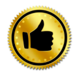 thumbs up image representing quality parts